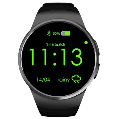 KW18 Smart Watch K8 font b Smartwatch b font for iphone android phone heart rate monitor