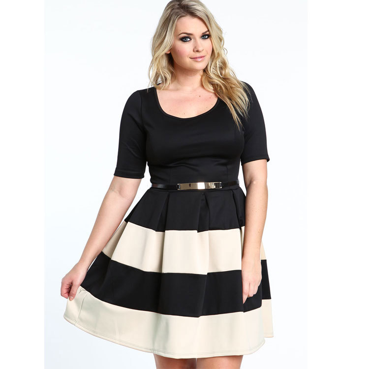 Dress styles for heavy set woman
