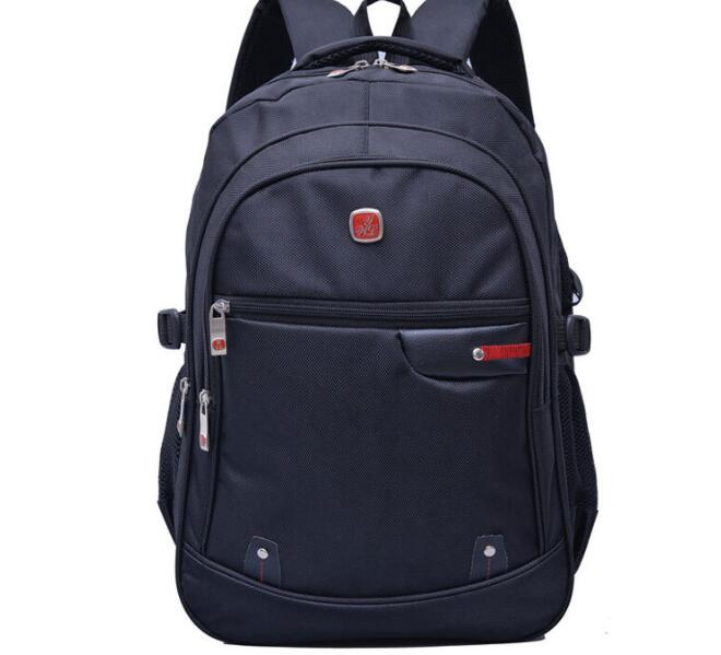 Student business nylon waterproof shoulder Backpack-in Backpacks from Luggage & Bags    1