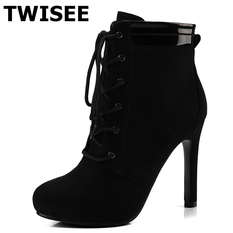 women boots hot selling sapatos femininos autumn point toe thin high heels 11 cm woman casual shoes butterfly knot цены онлайн