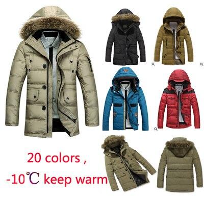 timeless design 11c48 682b1 US $106.0  Peuterey jacket woolrich men 10 Celsius keep warm 90% goose Duck  Down & parka men Peuterey Woolrich Winter Coat 3XL 4XL-in Parkas from ...