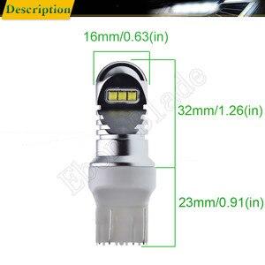 Image 2 - 1 X T20 7440 W21W WY21W 7443 W21/5 W XBD Chip 30W LED Front Tail Richtingaanwijzer brake Reverse Drl Lamp Wit Amber ROOD 12v 24v