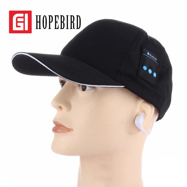 Boné de Beisebol 2017 Chapéu Da Música Do Bluetooth de Golfe Chapéus de Sol Das Mulheres Dos Homens Dos Esportes Da Forma do fone de Ouvido