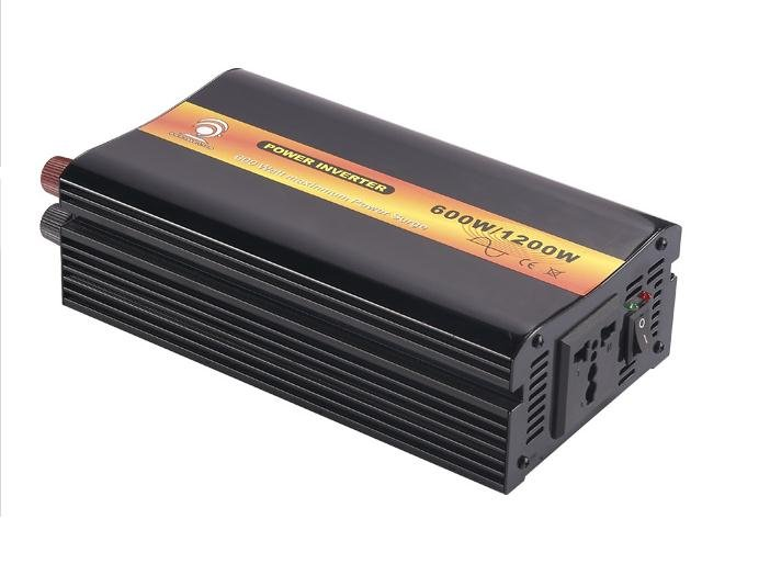 Factory Sell, 600W, <font><b>12</b></font>/24VDC input,110/230VAC, pure sine wave inverter with Charger,Power inverterCE Approved ! image