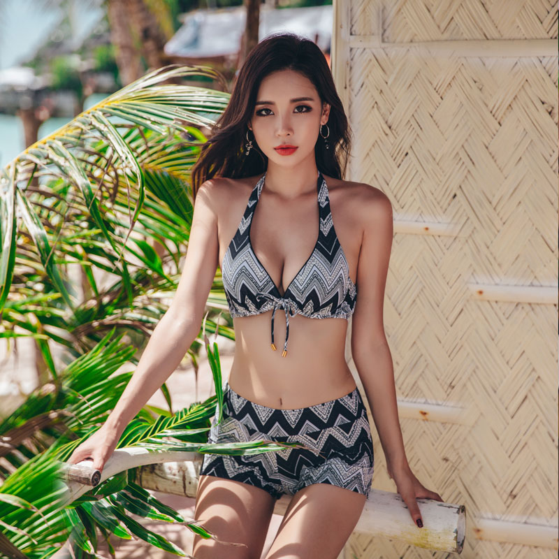2018 new bikinis set sexy women bikinis swimsuit high waisted bathing suits swim halter push up beach wear set plus swimwear nakiaeoi new sexy bikinis women swimsuit 2017 summer beach wear push up swimwear female bikini set halter top bathing suits swim