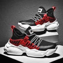 BIGFIRSE hommes nouvelle tendance chaussures décontractées léger respirant hommes chaussures de haute qualité à lacets antidérapant vulcanisé chaussures de mode baskets