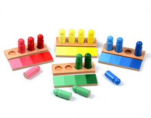 New Wooden Baby Toys Family Version Montessori Color Resemblance Sorting Task Wood Early Childhood Preschool Kids Baby GIfts