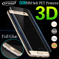 3D Curved Cambered Full Coverage Soft PET Film Screen Protector For Samsung Galaxy S6 S7 Edge S6edge Plus (Not Tempered Glass)