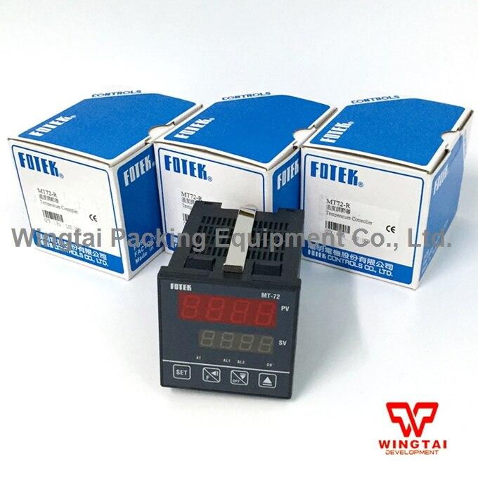 Taiwan FOTEK MT72-R Digital temperature controller/ industrial temperature controllers made in taiwan fotek tc72 dd r3 digital temperature controllers