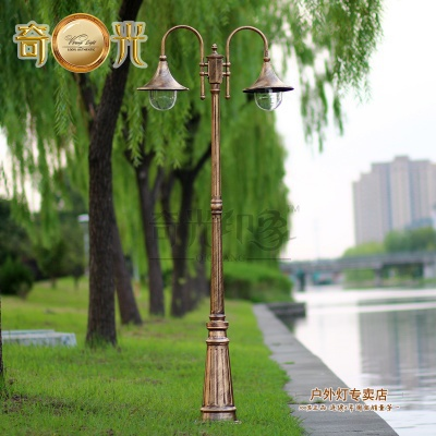 Aliexpress.com : Buy Europe Vintage Garden Outdoor Lights Fixture E27 Led Pole  Light Garden Path Tall Column Waterproof Lighting Fitting Aluminum From ...
