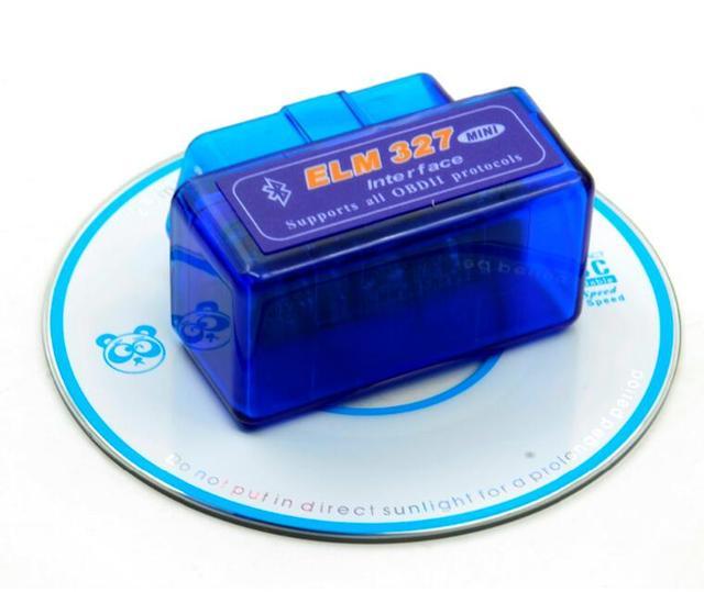2018 Super Mini ELM327 Bluetooth V2.1 OBD2 Car Diagnostic Tool Mini ELM 327 Bluetooth For Android/Symbian For OBDII Protocols