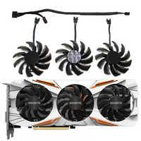 75mm T128010SU 0.35A ventilador para Gigabyte 2 AORUS GTX 1060 de 1070 de 1080 G1 GTX 1070Ti 1080Ti 960 970 980Ti ventilador enfriador de tarjeta de vídeo