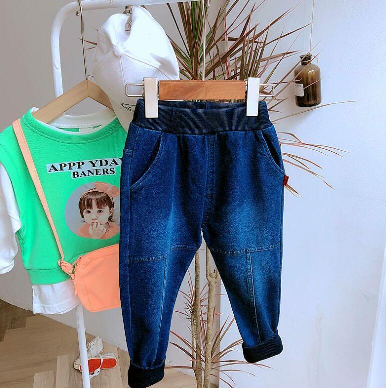 2019 new arrival boys  denim pants autumn  fashion kids jean pants 3-8t HU601(China)