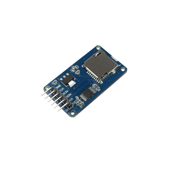 Kostenloser versand micro sd karte mini tf-kartenleser modul spi schnittstellen mit level-converter chip für arduino