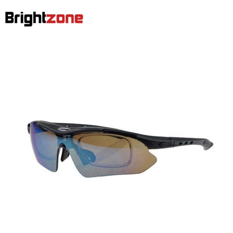 Baru Tiba Gratis pengiriman Satu Bingkai Dengan 5 Kacamata Lensa Yang - Aksesori pakaian