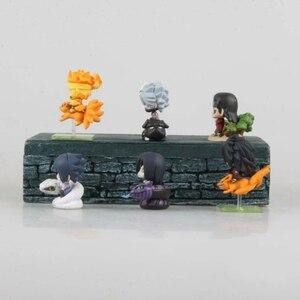 Image 5 - 6 teile/satz Pop Naruto Sasuke Uzumaki Kakashi Gaara Action Mit Halterungen Figuren Japan Anime Sammlungen Geschenke Spielzeug WX171