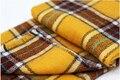 Элегантные желтые и черные квадраты долго супер большой платок
