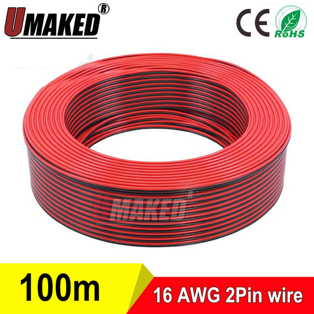 Copper 16awg 2 pin red black cable pvc insulated wire 16 awg wire copper 16awg 2 pin red black cable pvc insulated wire 16 awg wire greentooth Choice Image