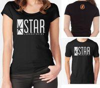 STAR Laboratories T Shirt Top The Flash TV Series S T A R Labs Ladies Tee
