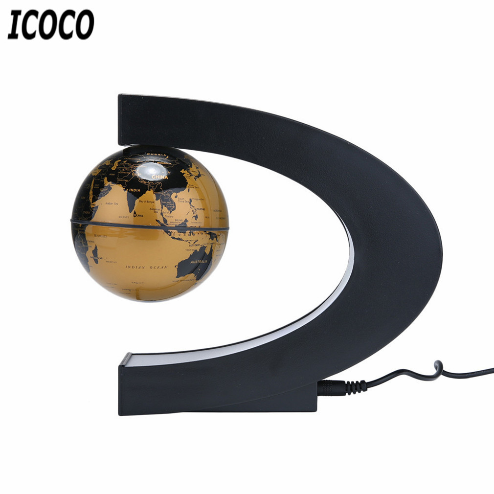 globo levitação magnética luz antigravidade magnetiva bola