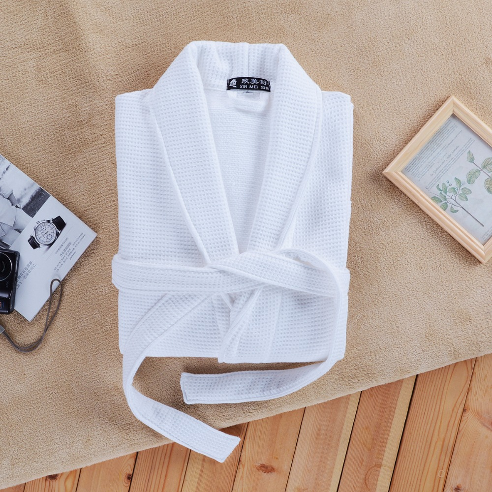 Aliexpress.com   Buy Cotton bathrobe women XL long thick soft warm towel  terry robe nightgown ladies nightdress for girls winter spring from  Reliable cotton ... 8464ac1dd