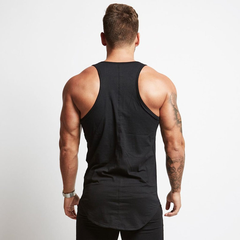 Men Bodybuilding Tight Cotton   Tank     Tops   Summer Jogger Workout Sleeveless shirt Man Sling Vest Male Gyms Fitness Brand Clothing