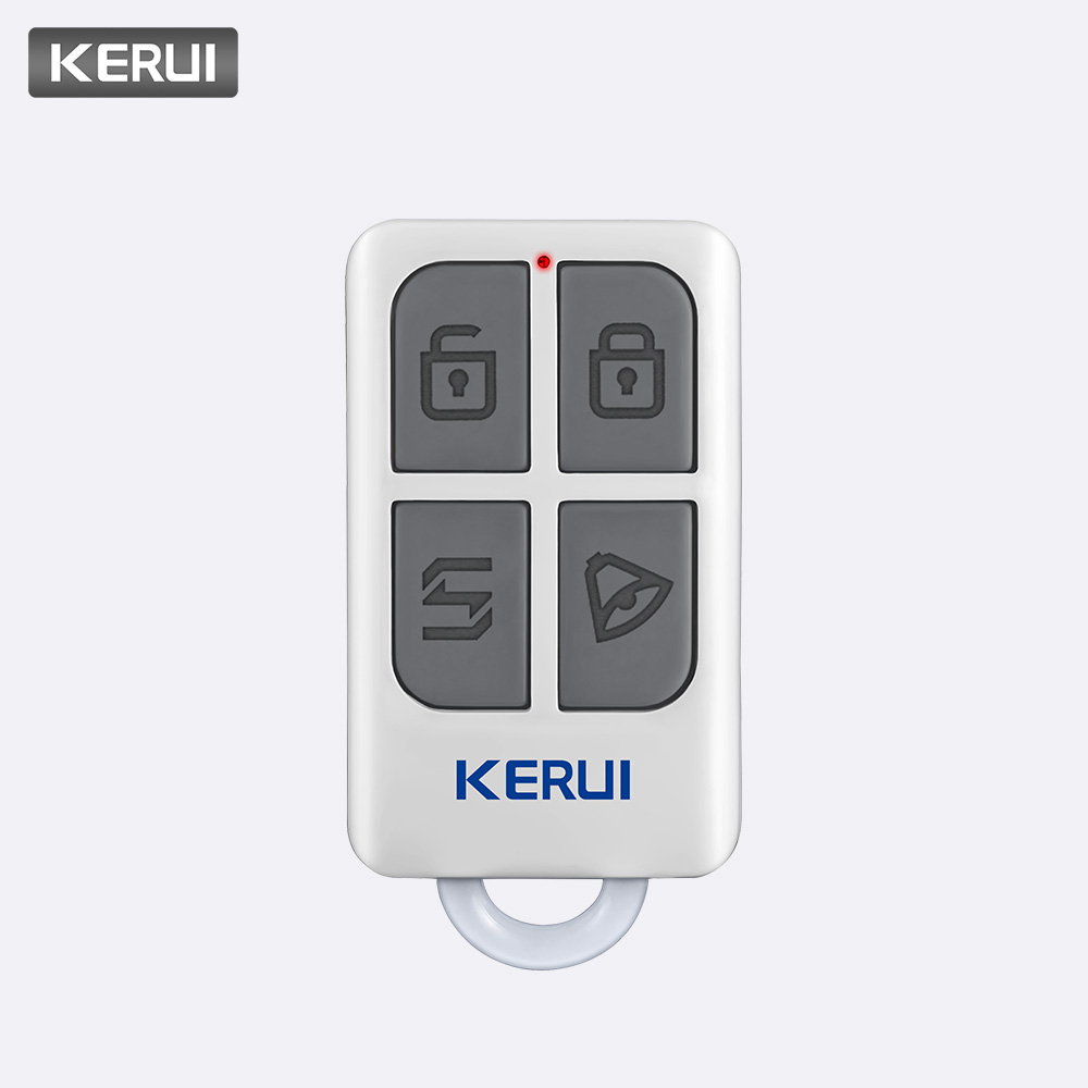 KERUI Smart Controller Alarm Alert Accessories Wireless Portable Remote Control for KERUI GSM PSTN Home Security Alarm SystemKERUI Smart Controller Alarm Alert Accessories Wireless Portable Remote Control for KERUI GSM PSTN Home Security Alarm System