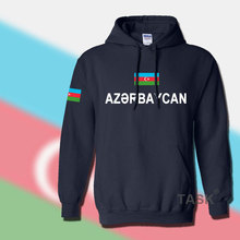Azerbaijan Azerbaijani hoodie men sweatshirt sweat new hip hop streetwear footballer sporting tracksuit nation 2017 country AZE