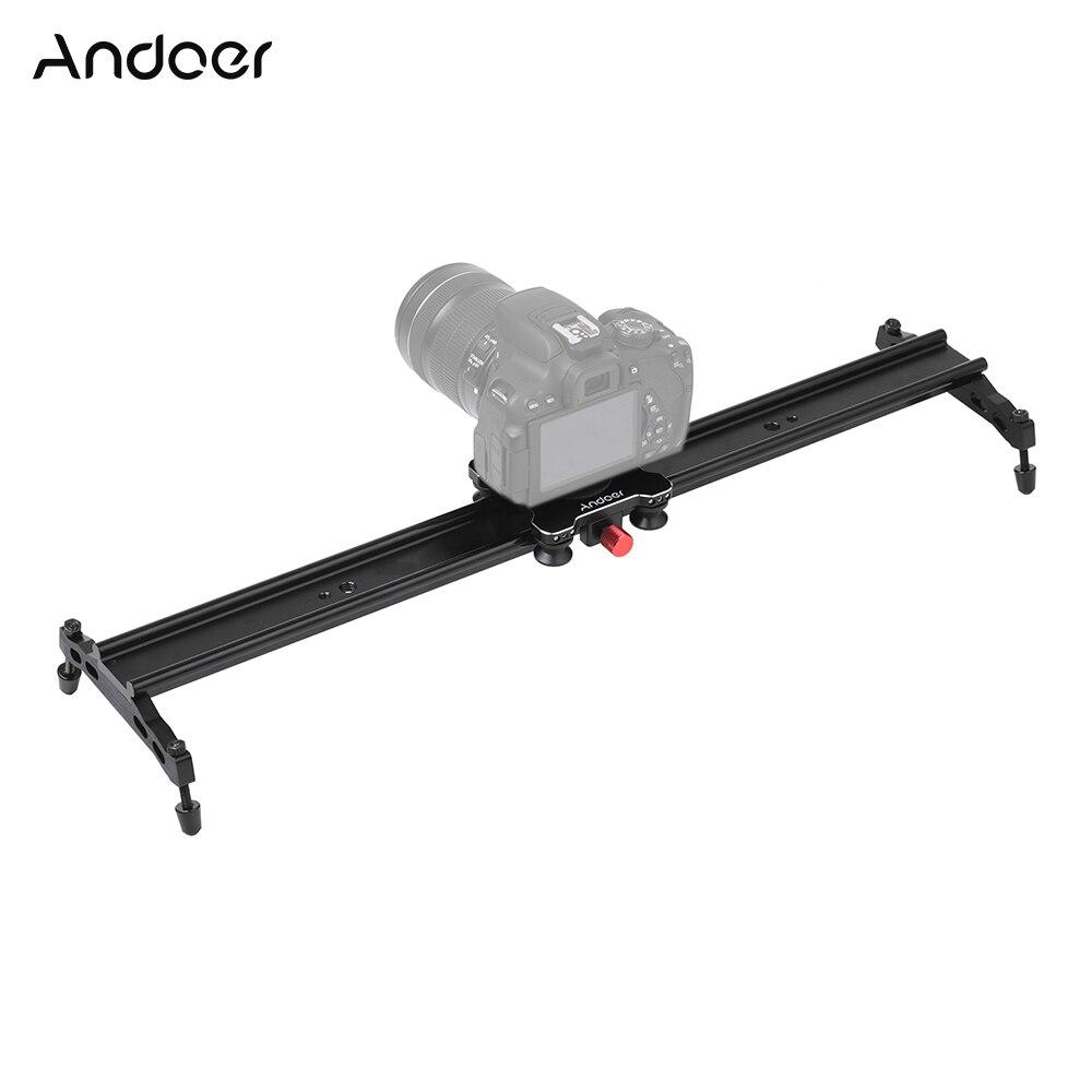 Andoer 80cm 32 4 Bearings Camera Slider Rail Track Slider Aluminum Video Stabilizer for Canon Nikon