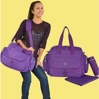 Luxury Large Big Size Mother Mom Baby Diaper Bag,Rose Red,Blue,Purple,Black,Maternity Infant Storage Bag for Mommy,Nappy Bag venum origins bag xtra large black red
