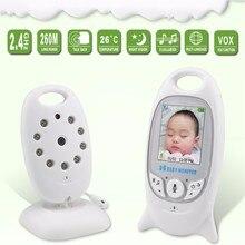 Детские Камера, 2.4 Г беспроводной Видео 2.0 дюймов Цветной Монитор Младенца 2 Способ Обсуждение ИК-контроля Температуры с 8 колыбельная Ночного Видения