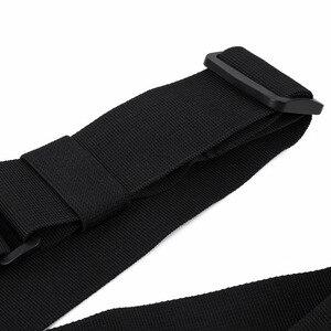 Image 5 - Bolsa de pecho Universal Radio funda de transporte para Walkie Talkie pecho bolsillo Negro Mochila para Radio Comunicador para Radios dobles