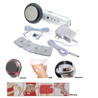3 In 1 EMS Infrared 1MHz Health Care Anti Cellulite Lose Weight Slimming Body Skin Therapy