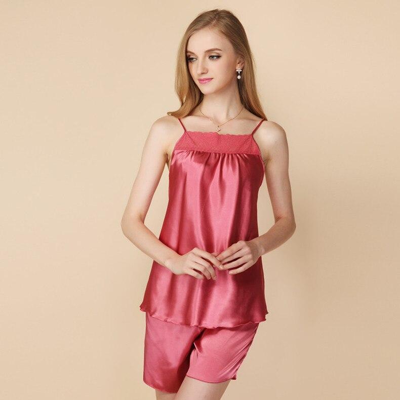 09c3f9521 ᑎ‰Newest Woman s Pajama Sleeveless Spaghetti Strap Summer Pajamas ...