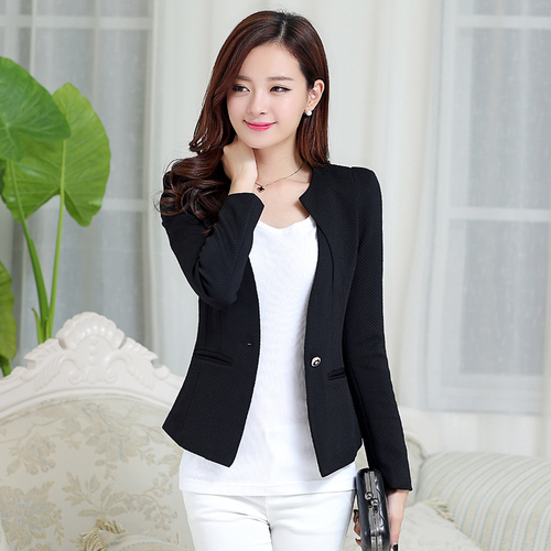 Hot Sale J61269 Fashion 2018 Candy Color Blazers Women Business Suit
