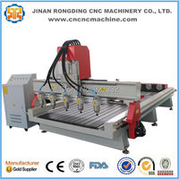Very popular multi heads 3d cnc router