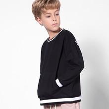 5-12 Yrs Teenage Boys Sweatshirt Spring Autumn Kids Hoodies Casual Long Sleeve Sweatshirt For Boy Brand Children's Clothing