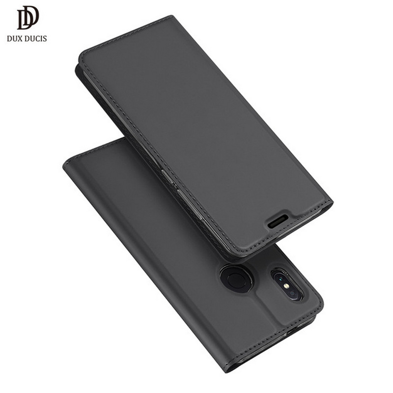 DUX DUCIS De Luxe Flip Étui En Cuir pour Xiaomi Redmi Note 5 5.99 portefeuille Cas de Téléphone pour Xiaomi Redmi Note 5 pro Couverture de Livre 2018
