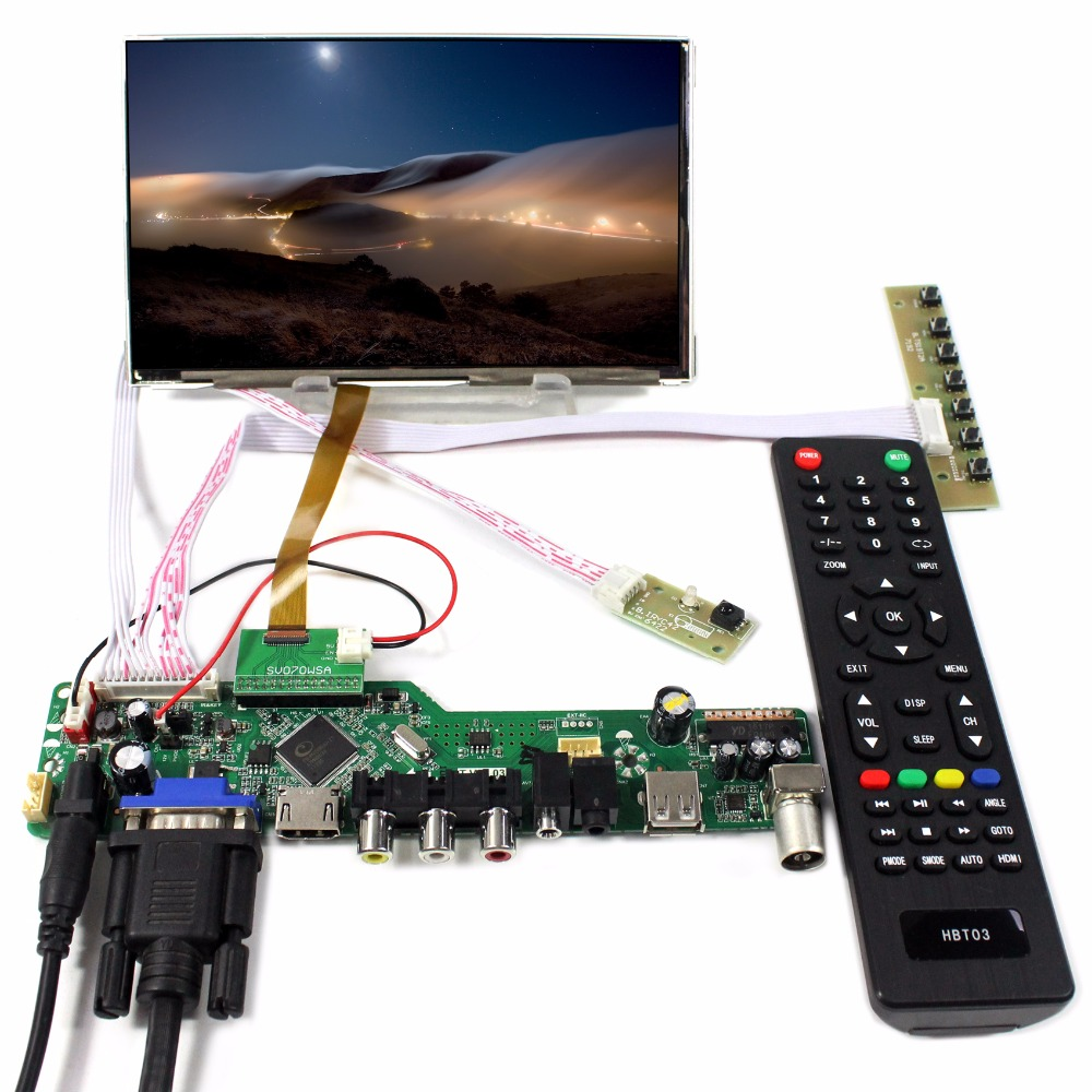 FLASH SALE] TV/HDMI/VGA/AV/USB/AUDIO LCD controller Board+