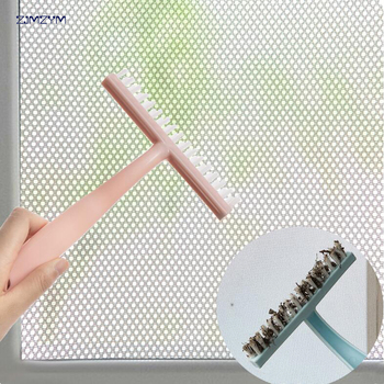 Hand-held Slit Trench Doors Groove Cleaning Brush Kitchen Air Conditioning Outlet Air Louvers Brush