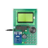 RC522 шины карт IC Управление конструкция системы пополнение карты голосовые подсказки комплект электронных DIY kit с lcd12864