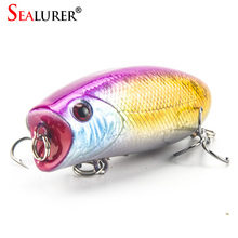 Lifelike Fishing Lure 5.5cm 11g 8# Hooks Pesca Fish Popper Lures Wobbler Isca Artificial Hard Bait Swimbait