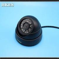 82pcs Lot 1200tvl Mini Security Dome Analog CCTV Camera Indoor IR CUT Night Vision Freeshipping