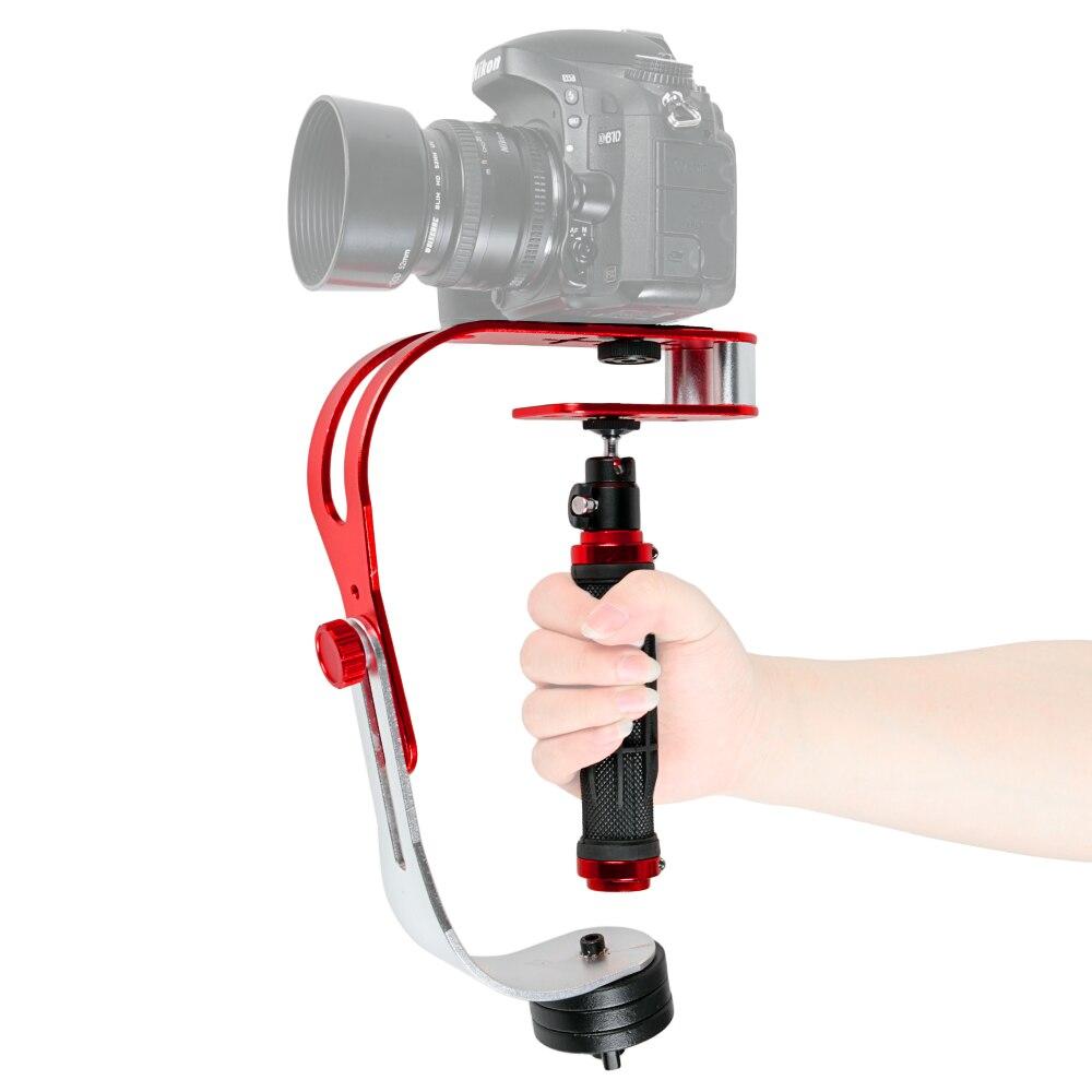 Photographie Steadycam Vidéo de Poche Stabilisateur Caméra Téléphone Titulaire Mouvement Steadicam pour Canon Nikon Sony Gopro Hero DSLR DV