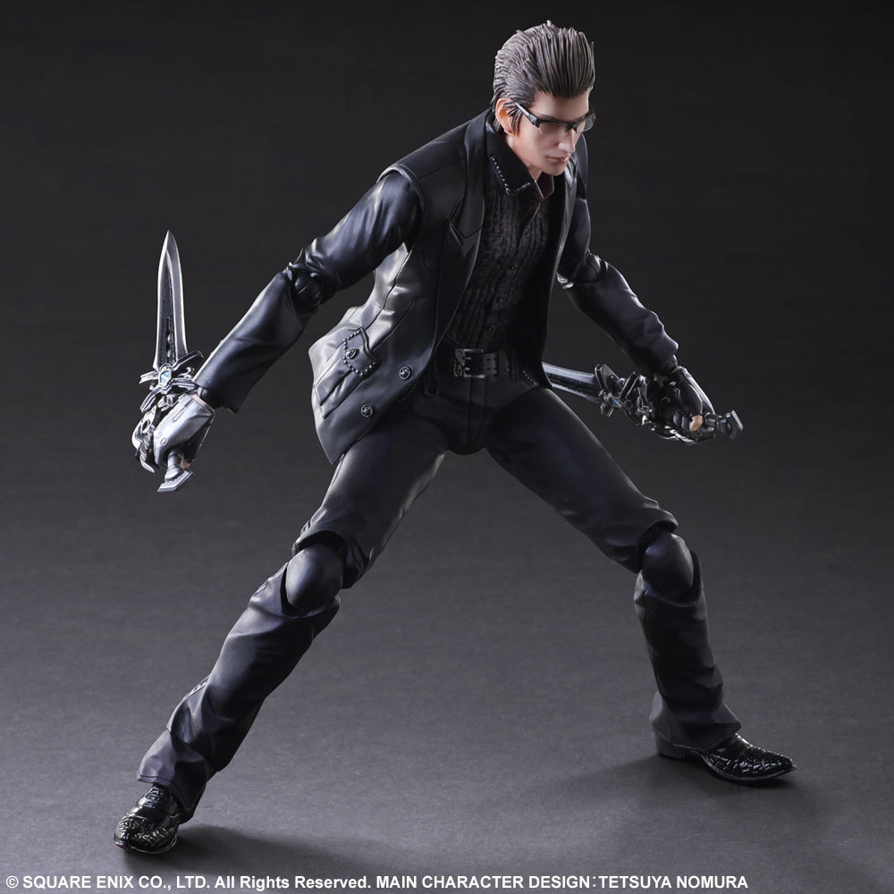 PLAY ARTS 27cm Final Fantasy XV Ignis Scientia  Action Figure Model Toys-in Action & Toy Figures from Toys & Hobbies    1