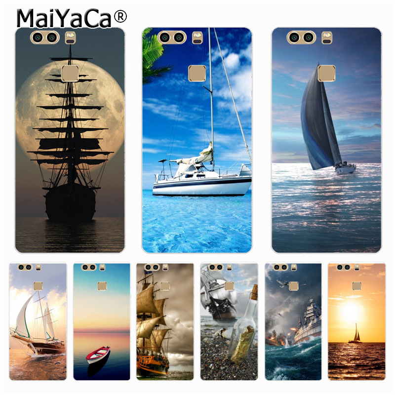 Cellphones & Telecommunications Maiyaca Ship Moon Ocean Sunset Plastic Pc Phone Case For Huawei P9 P6 P7 P8 P10 Plus Case Coque For Xiaomi Red Mi 2 Note 2 Case Limpid In Sight