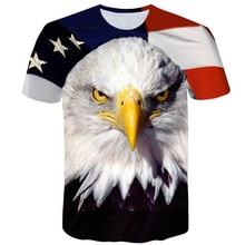 цена на New USA Flag T-shirt Men Women Sexy 3D Print Striped American Flag Men T Shirt Summer Tops Tees large size men's tshirt 4XL