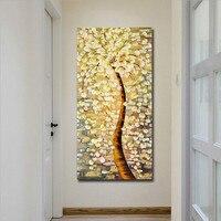 Одиночные панели денежное дерево принты для художественных холстов, настенные художественные картины, пользовательская картина в стиле жи...
