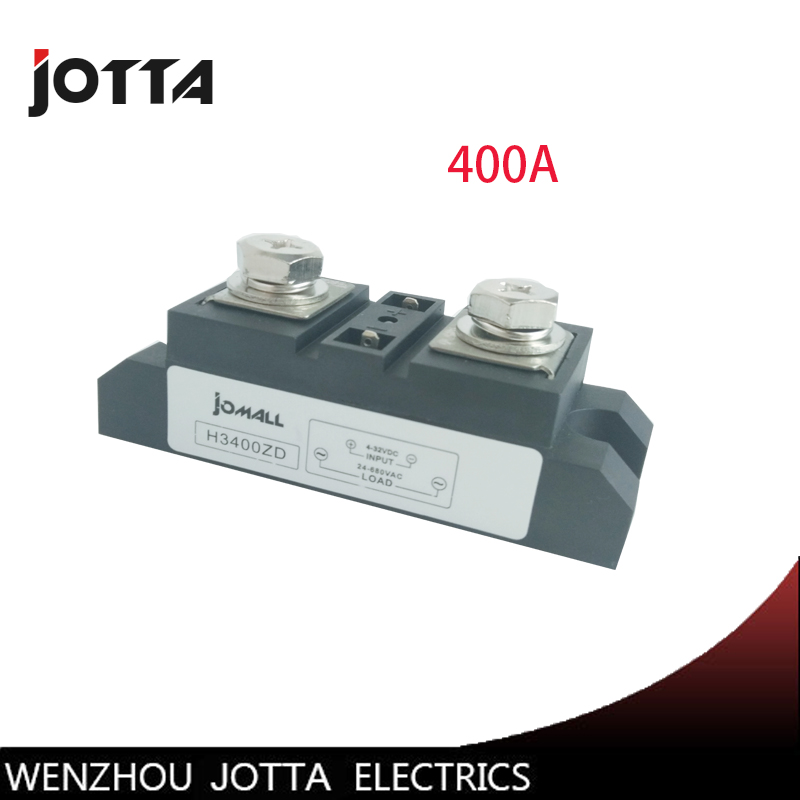 400A Industrial SSR Single-phase Input 4-32VDC;Output 24-680VAC solid state relay 400a 400a input 70 280vac output 24 480vac industrial ssr single phase solid state relay ssr 400a