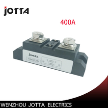 400A Industrial SSR Single-phase Input 4-32VDC;Output 24-680VAC solid state relay 400a